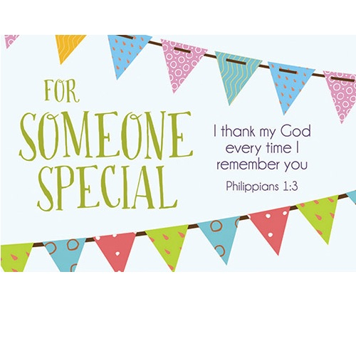 For Someone Special - Pass It On Message Card B1696
