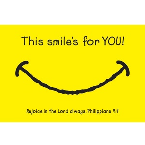 This Smile's for You - Christian Message Card 27787